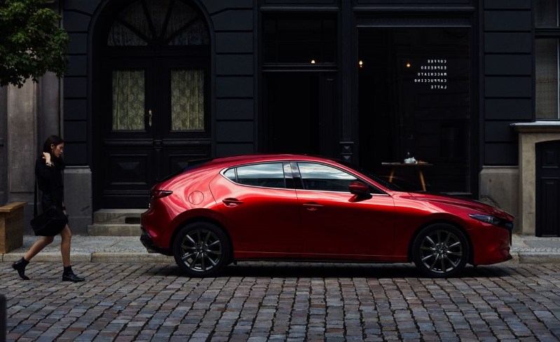 The New 2019 Mazda 3 Is Beautiful Inside and Out and Available with AWD