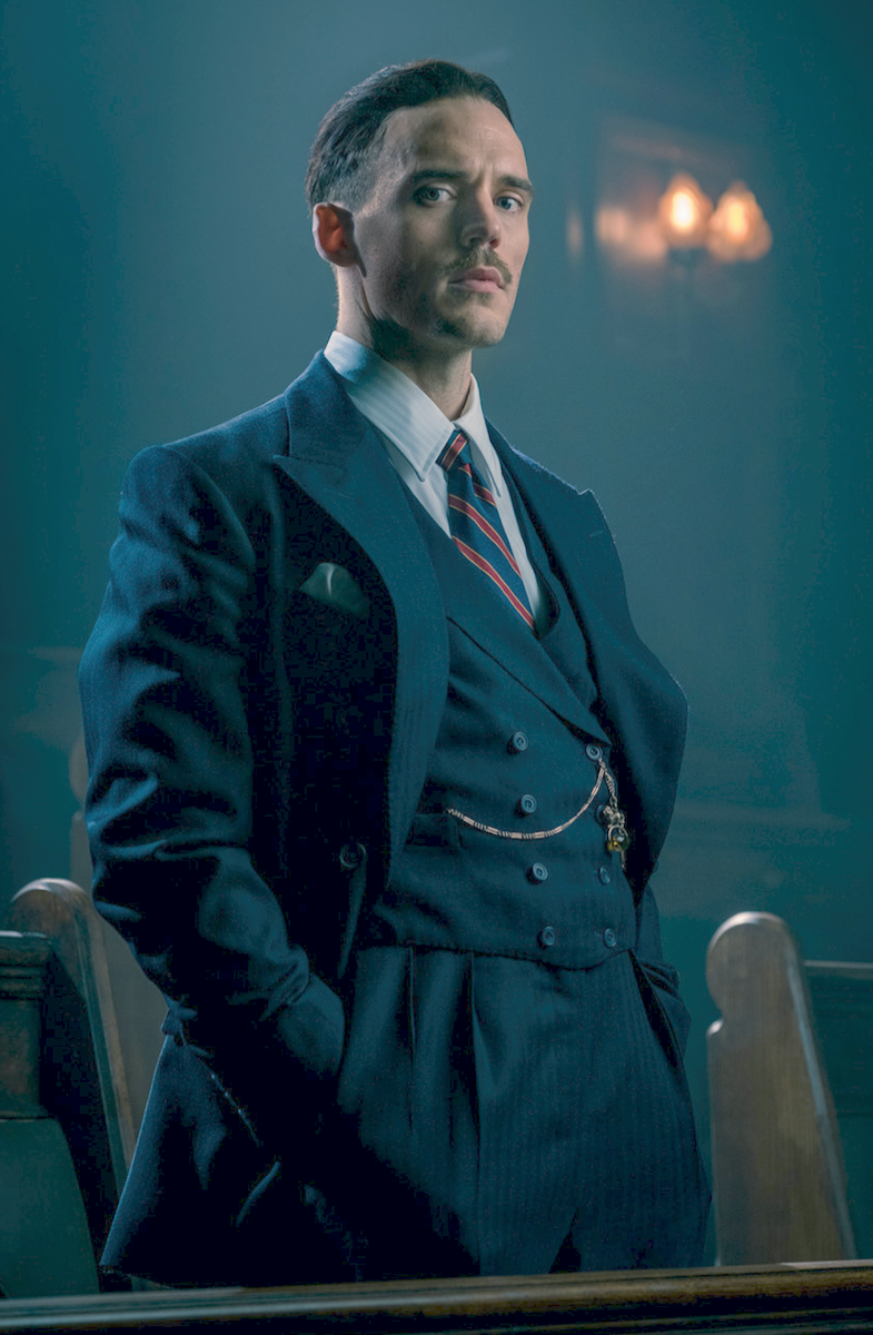 Peaky Blinders unveils first-look at Hunger Games star