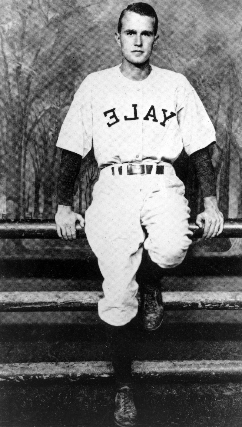 Offbeat George H W Bush Loved Baseball And Had The Leather To