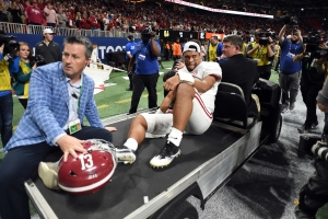 Tagovailoa expected to be available for CFP despite sprained ankle