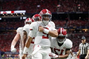 Twitter reacts after Hurts leads 'Bama comeback win over Georgia