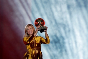 Norway's Hegerberg wins first Ballon d'Or for women