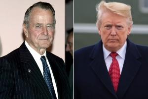 Trump Is Invited to Bush's Funeral Because 41st Commander-in-Chief Didn't Want to 'Stiff' Him