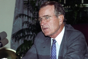Why Bush 41, a Great President, Won Only One Term
