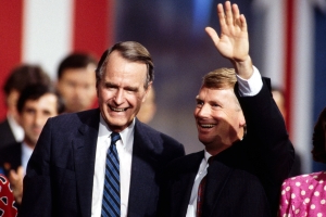 Former Vice President Dan Quayle Remembers 'Wonderful' Lobster Lunches with George H.W. Bush