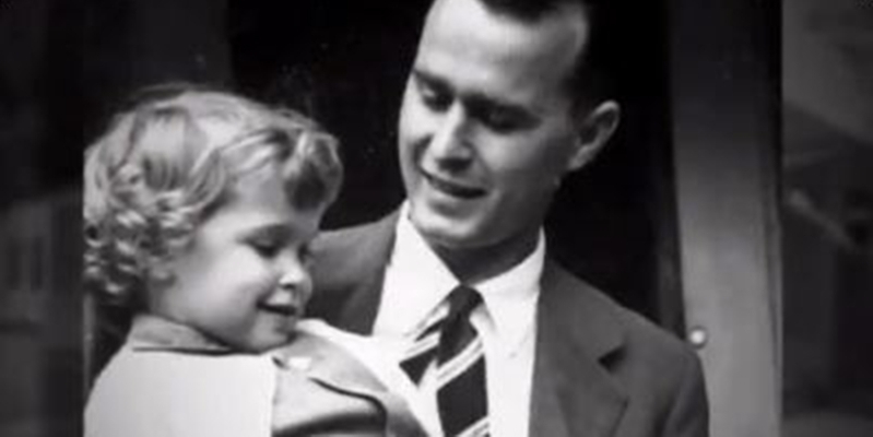 US: George H W  Bush wrote a touching letter about the daughter he