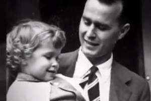 George H.W. Bush wrote a touching letter about the daughter he lost