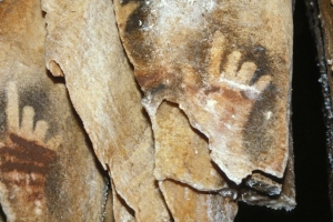 Why humans are missing fingers in cave paintings