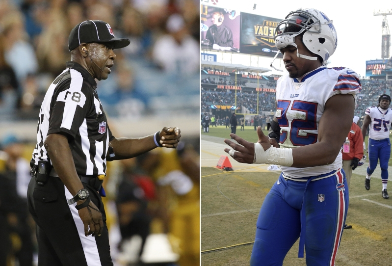Sport Nfl Refs Back Official Accused Of Calling Player Vulgar Name