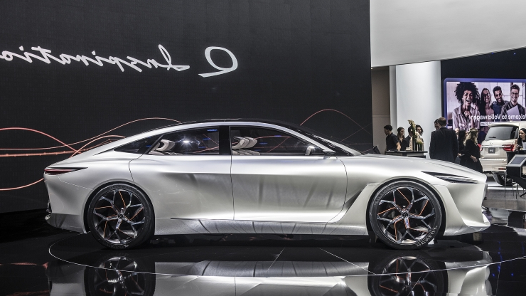 Nissan, Infiniti will each show a next-gen concept EV in Detroit