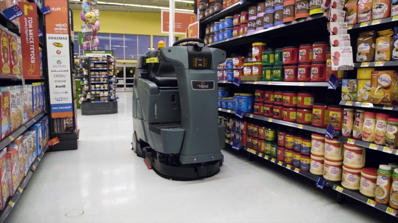 Offbeat: Walmart's latest hire: Robotic janitors that clean
