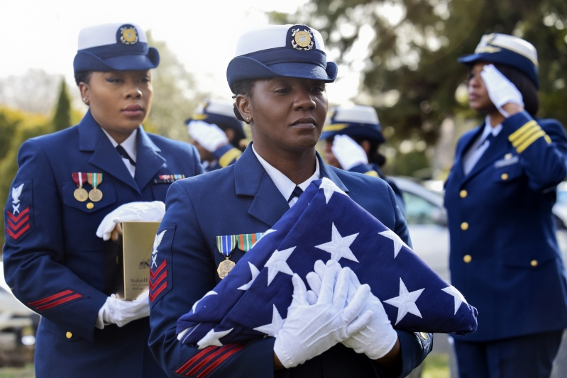 Coast Guard pioneer, race riot survivor laid to rest