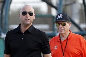 Ex-Marlins exec says owner bought team to get Derek Jeter's digits
