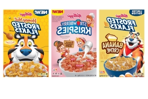 Kellogg's to Release Banana Crème Frosted Flakes, Strawberry Rice Krispies in 2019
