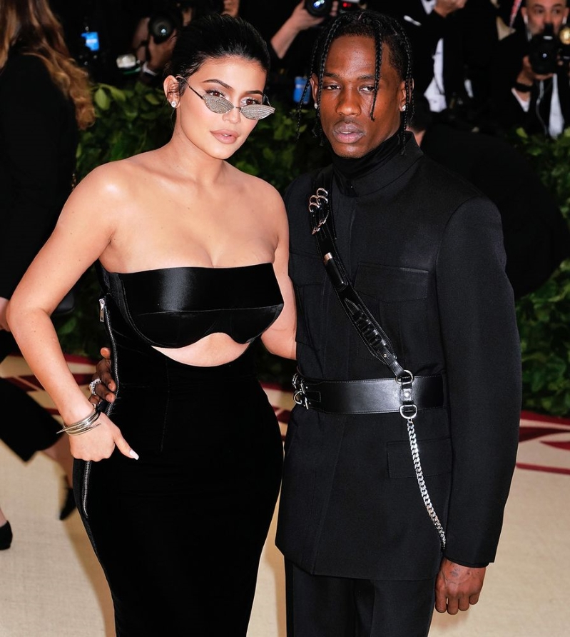 Kylie Jenner Slams Fake Photo of Travis Scott with Another Woman: 'You're Messing with Real People'