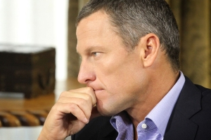Lance Armstrong says his investment in Uber saved his family