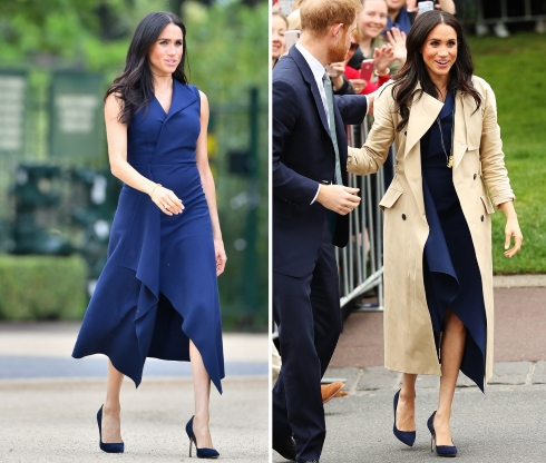 Meghan Markle's Growing Baby Bump Sparks More Buzz of Twins
