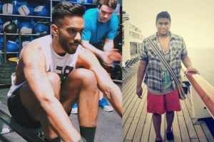 This Guy Lost Over 100 Pounds By Cutting Out Booze and Taking Up CrossFit