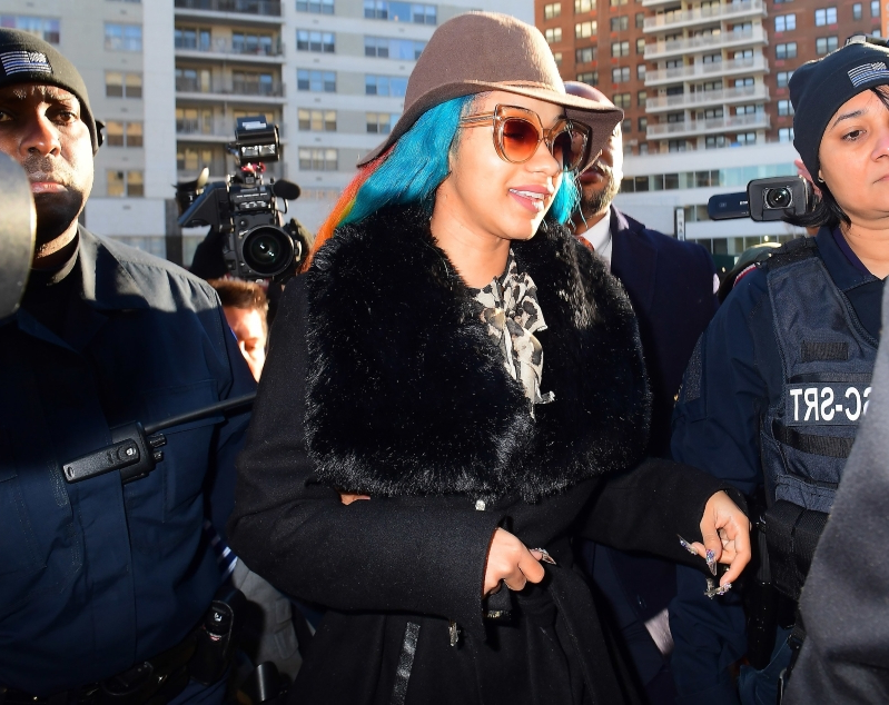 Cardi B Released Without Bail as Orders of Protection Issued in Alleged Strip Club Bartender Attack