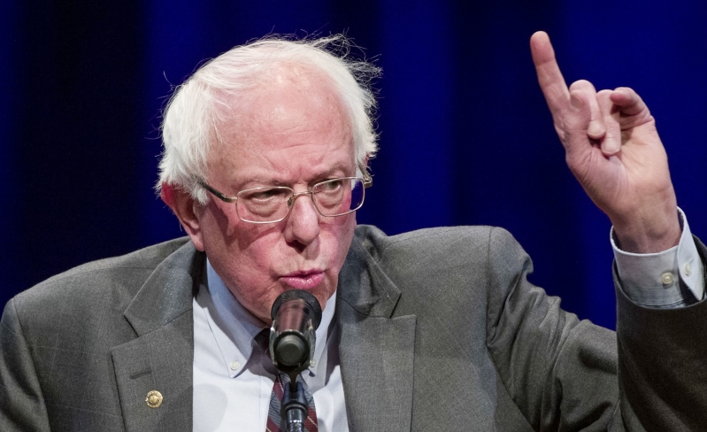 Climate hawk Bernie Sanders spent almost $300k on private jets