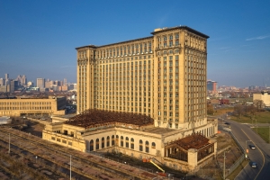 Ford Kicks Off Renovation of Detroit's 105-Year-Old Michigan Central Station