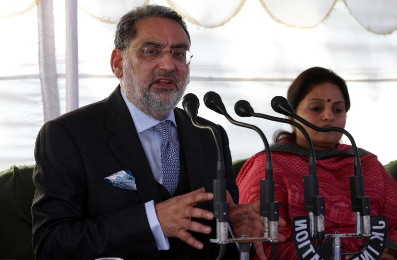 Former J&K finance minister Haseeb Drabu resigns from PDP