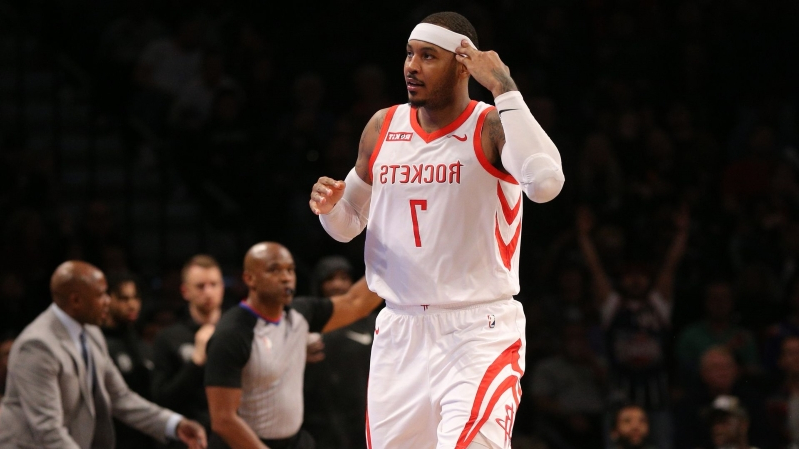 93c9f48ebe6e Offbeat  LeBron James wants to bring Carmelo Anthony to Lakers ...