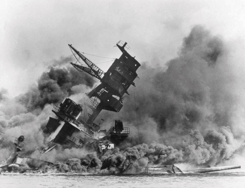 The Latest: Survivors mark 77th anniversary of Pearl Harbor