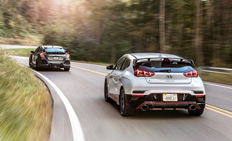 The New Hyundai Veloster N Challenges the Almighty Honda Civic Type R
