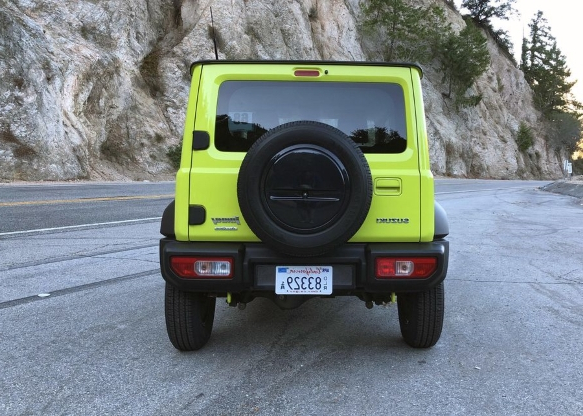 We drove the Suzuki Jimny in America, and it was good