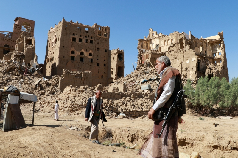 Yemen's crushing war takes a tentative first step to a resolution