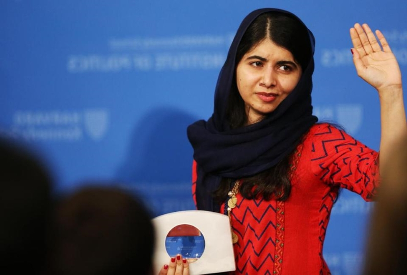 Malala Yousafzai receives award for activism at Harvard, offers advice to incoming lawmakers