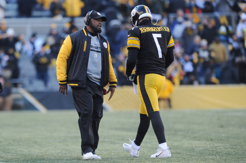 ad17c67e850 Sport  Ben Roethlisberger Knocked Out of Game with Rib Injury ...