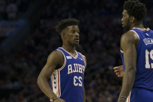 Butler responds to Embiid being frustrated with new role