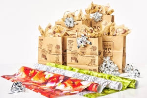 Chipotle Gift Wrap Will Have You Guac-ing Around the Christmas Tree