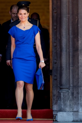 938926e406f Crown Princess Victoria of Sweden just paid the ultimate fashion tribute to  her mother Queen Silvia