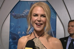 Nicole Kidman on Getting Support From Her Real and TV Family at 'Aquaman' Premiere (Exclusive)