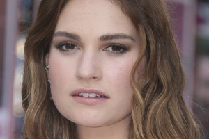 First Look At Lily James In Four Weddings And A Funeral Sequel