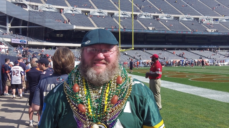 Green Bay fan loses bid to wear Packers gear on sidelines for Sunday s Bears  game in a21c46f12