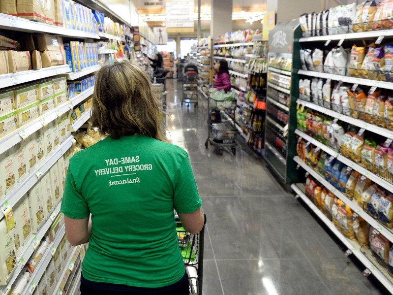 Food: Instacart Will 'Wind Down' Its Partnership with Whole