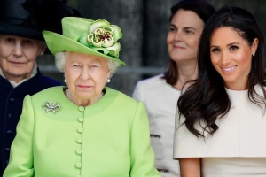 Queen 'rips into' Meghan in private meeting