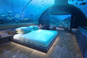 'World's First' Underwater Villa Is Now Open in the Maldives