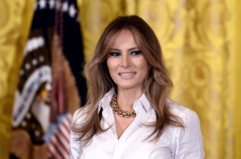 As court filings roil the White House, Melania Trump ups her schedule