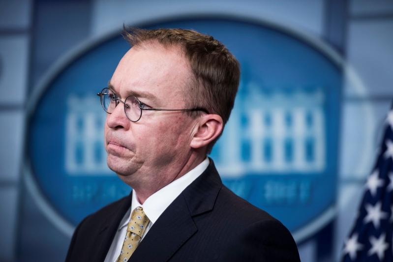 Trump names budget director Mick Mulvaney as acting White House chief of staff
