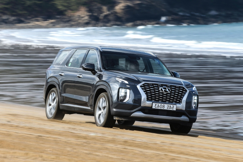 Auto Shows 2020 Hyundai Palisade Crocodile Eyes Family Friendly