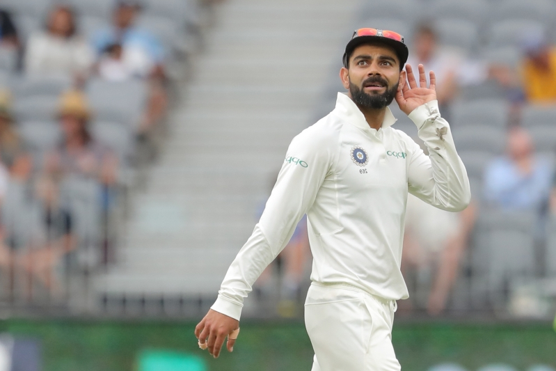 5bf0ac651ee Sport  Animated Kohli only white noise to Aussies - PressFrom ...