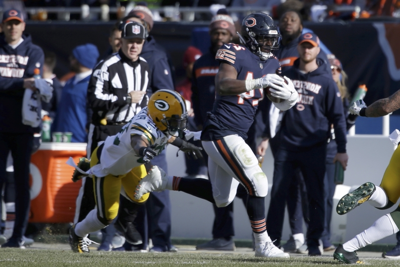 Sport  Bears clinch NFC North with 24-17 victory over Packers ... 3bf8dac64