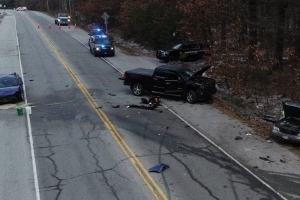 Five people injured after Casco, Maine man leads police on high-speed chase in Raymond