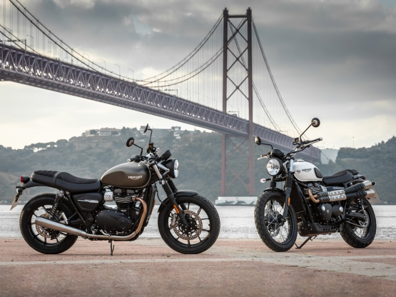 Motorcycles 2019 Triumph Street Twin And Street Scrambler Review