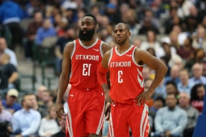 2b10d6eab820 Sport  Chris Paul says teammate James Harden is the  best offensive player   he s ever seen - PressFrom - US